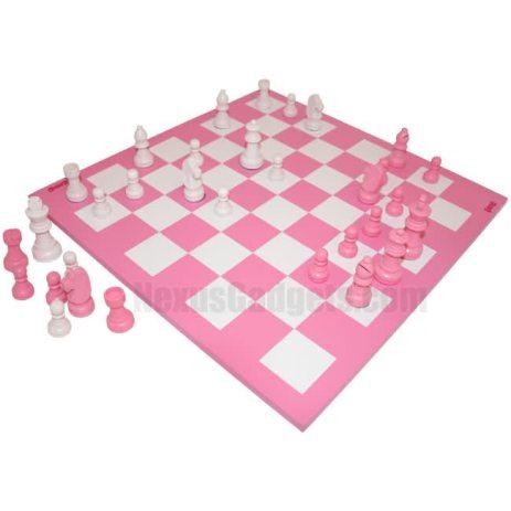 jeu échecs rose